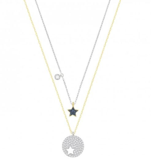 Swarovski Crystal Wishes Make a Wish Necklace and Pendant Set 5253997