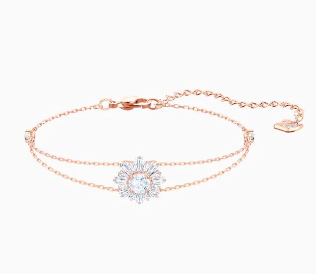 Swarovski Sunshine Bracelet Rose Gold Plated 5451357