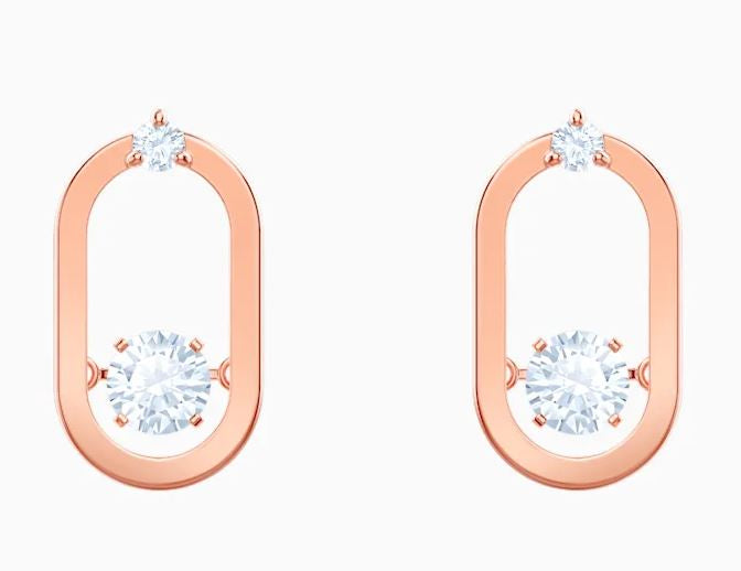 Swarovski North Oval Earrings 5468118