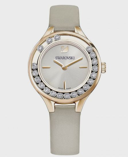 Swarovski Ladies Rose Gold Plated Lovely Crystals Mini Watch 5261481
