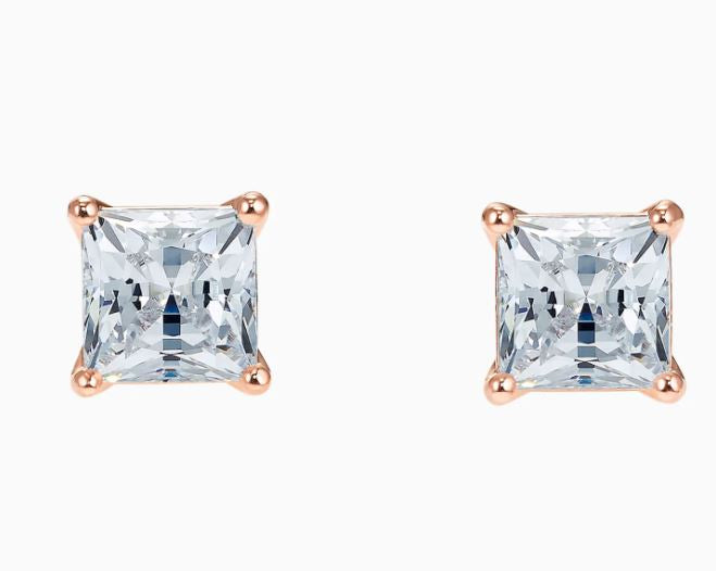 Swarovski Attract Square Rose Studs 5509935