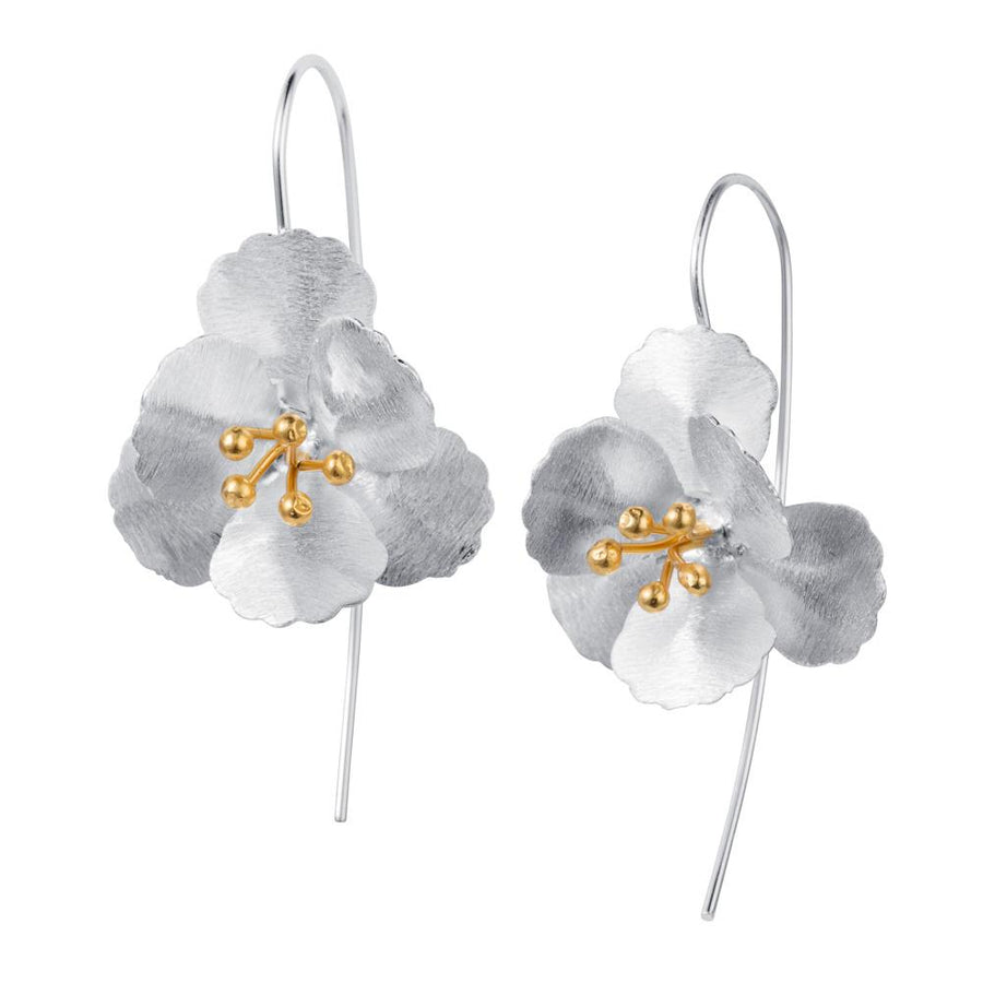 CR Cherry Blossom Hook Earrings E001SG