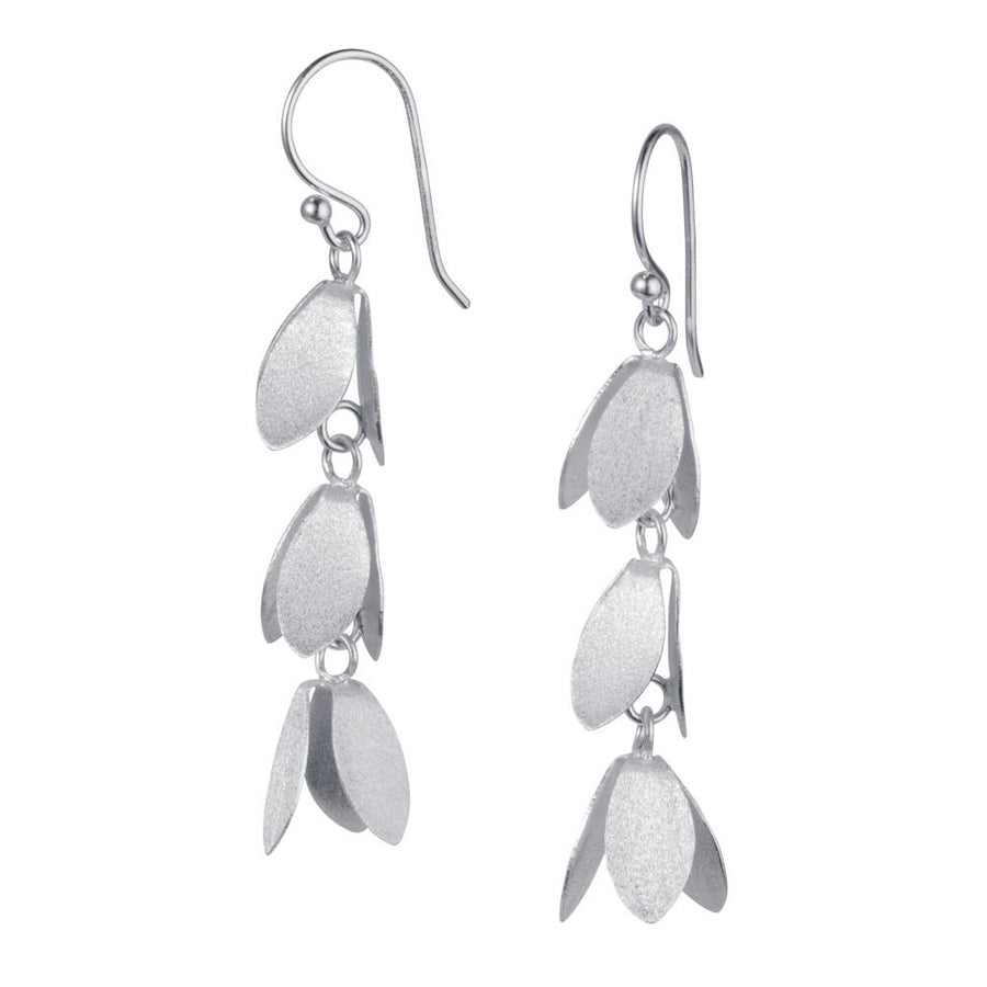 Christin Ranger Catkin Silver Earrings E022