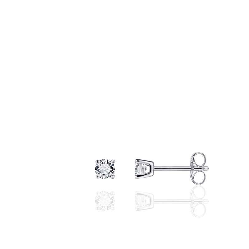 Morgan Banks Silver Ear Studs E1021/4