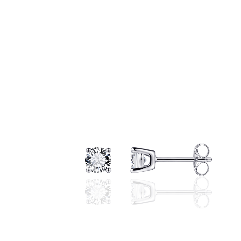 Morgan Banks Silver Ear Studs E1021/7