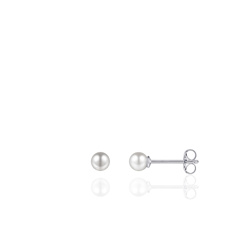 Morgan Banks Silver Ear Studs E1025/4