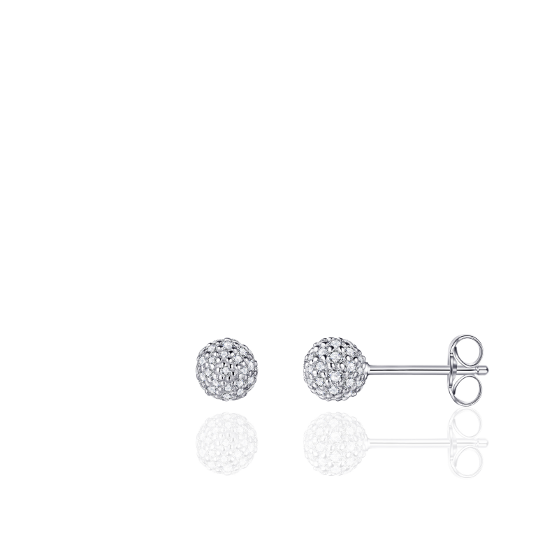 Morgan Banks Silver Ear Studs E1026/5
