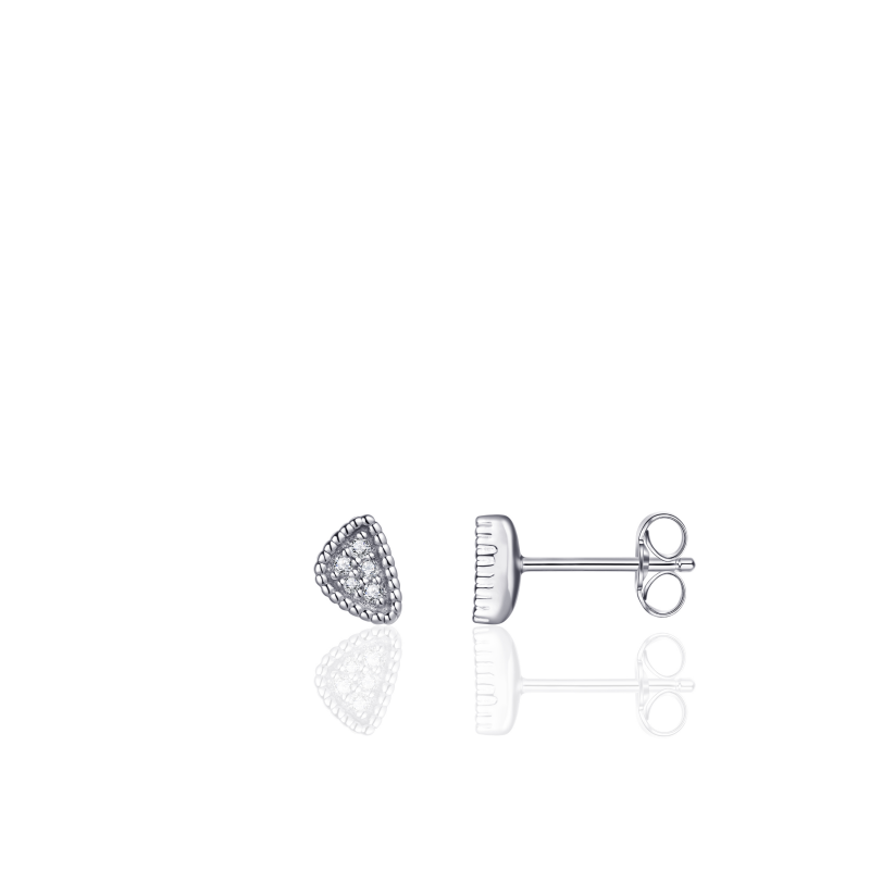 Morgan Banks Silver Ear Studs E1028