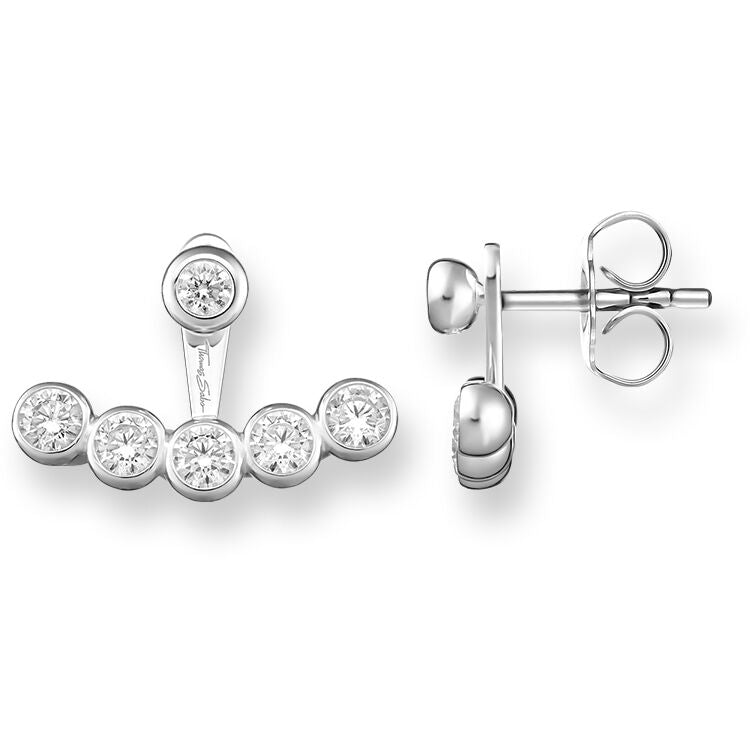 Thomas Sabo Ear Studs Sterling Silver White Zirconia H1905-051-14