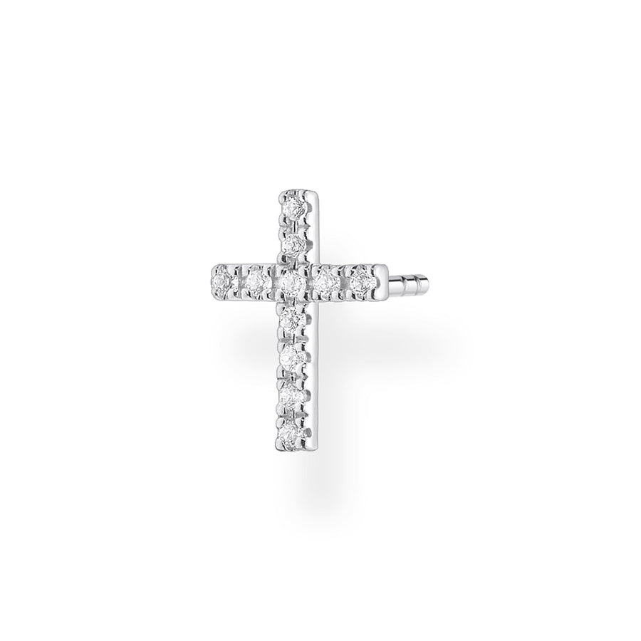Thomas Sabo Silver Cross Ear Stud H2131-051-14