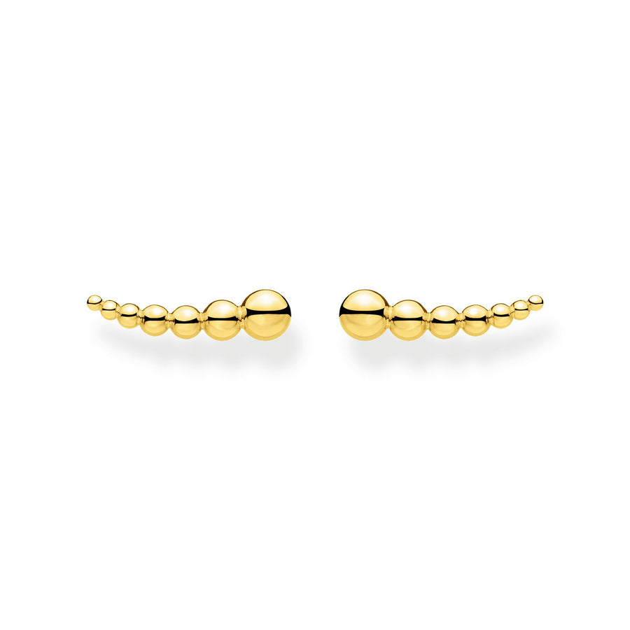 Thomas Sabo Silver Yellow Gold Ear Climber H2156-413-39