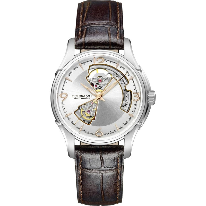 Hamilton Gents Jazzmaster Automatic Open Heart Watch, H32565555