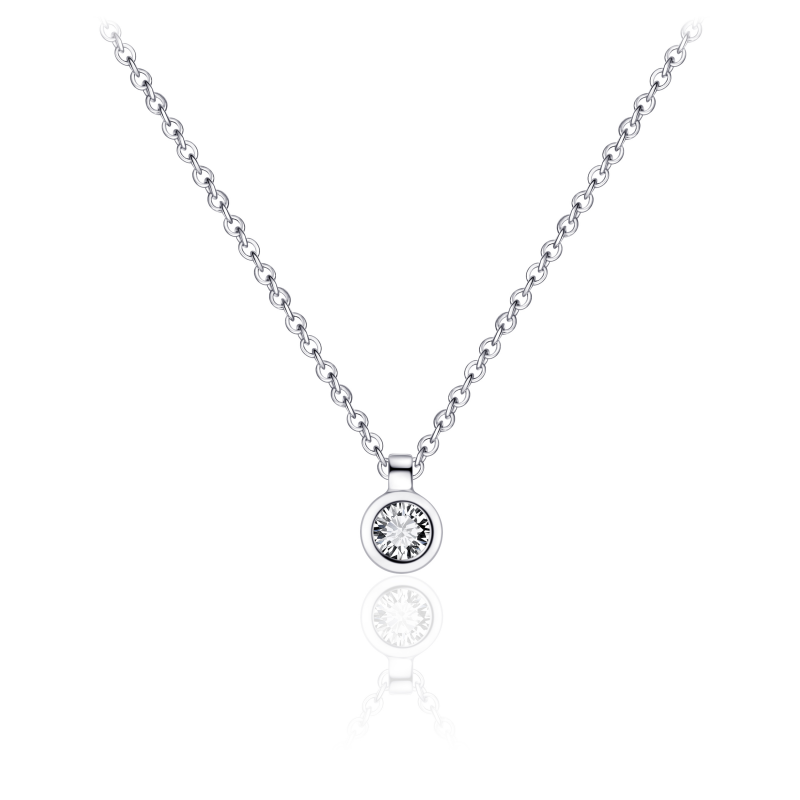 Morgan Banks Silver Necklace N1036