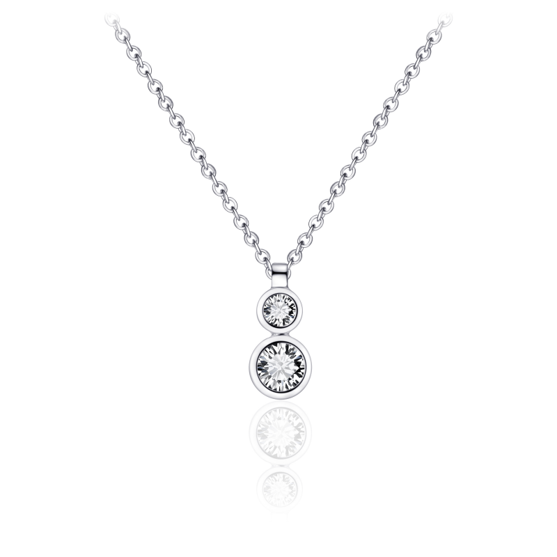 Morgan Banks Silver Necklace N1038