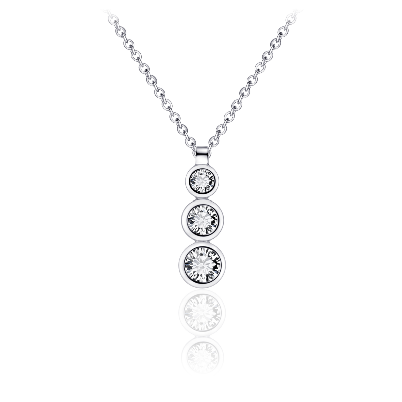 Morgan Banks Silver Necklace N1039