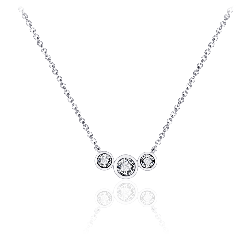 Morgan Banks Silver Necklace N1040
