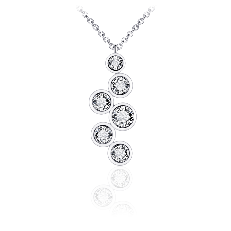 Morgan Banks Silver Necklace N1047