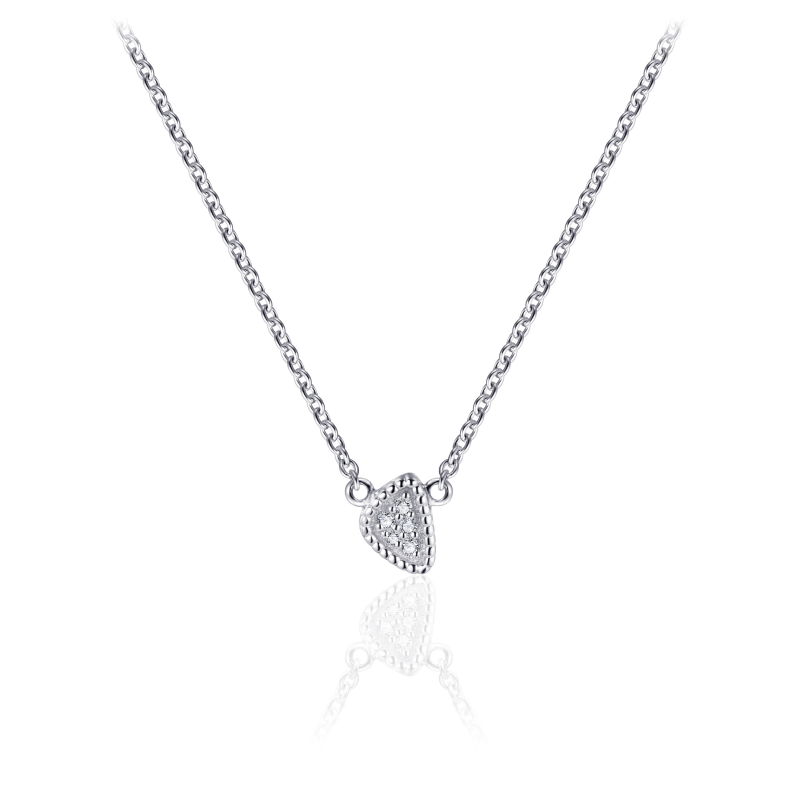 Morgan Banks Silver Necklace N1057