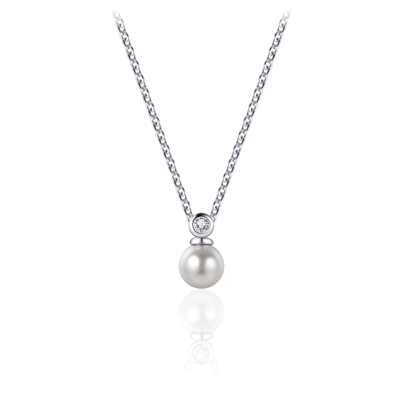 Morgan Banks Silver Necklace N1059