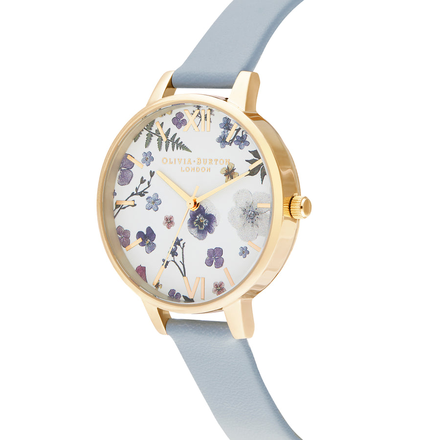 Olivia Burton Artisan Vegan Blue & Gold Watch OB16AR08