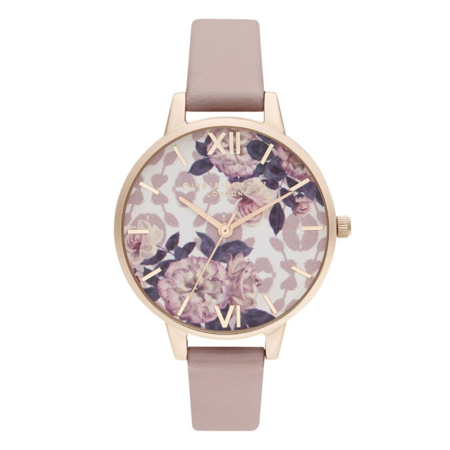 Olivia Burton Wild Flower Vegan Rose & Pale Rose Gold Watch OB16LP03