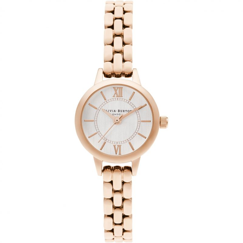 Olivia Burton Mini Dial Rose Gold Bracelet Watch OB16MC51