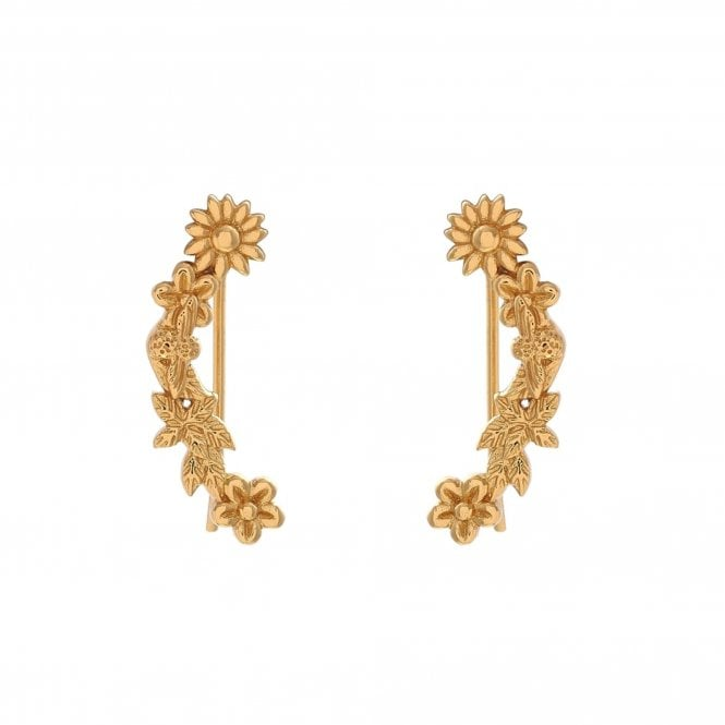 Olivia Burton Gold Butterfly Creeper Earrings OBJ16BBE02