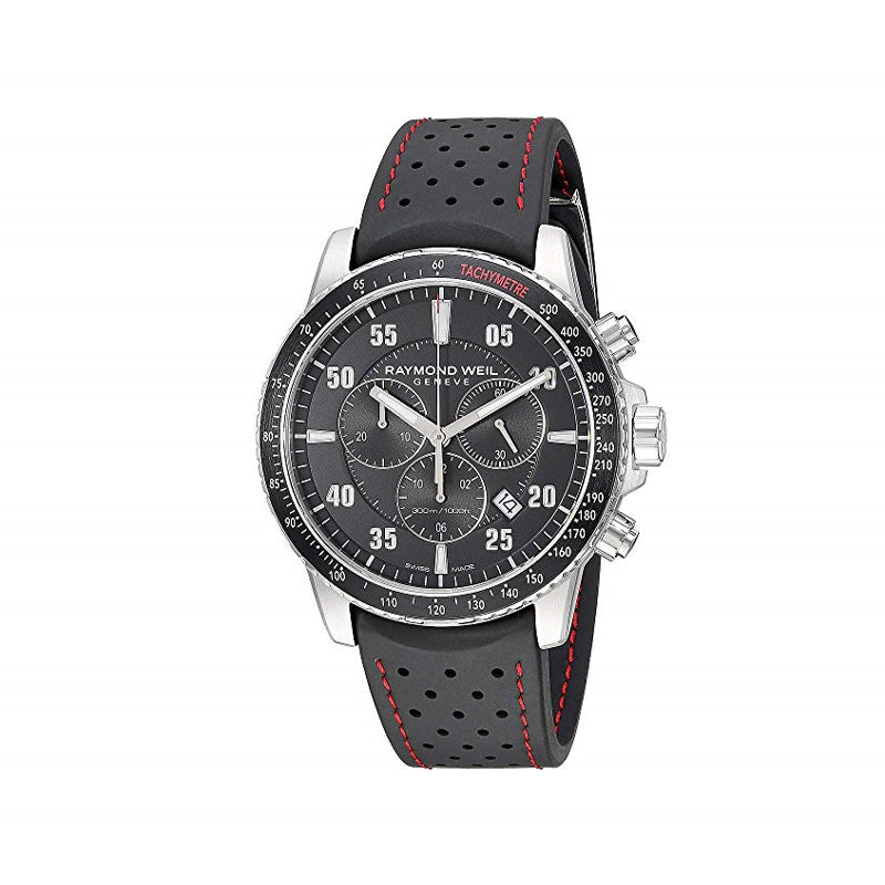 Raymond Weil Gents Black Dial Tango Chronograph Watch 8570-SR1-05207
