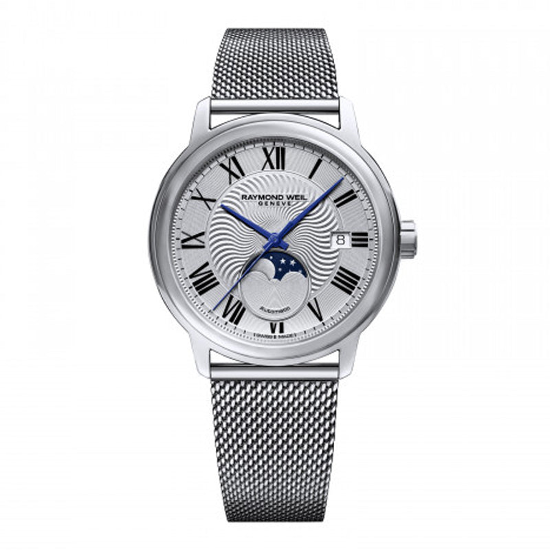 Raymond Weil Gents Maestro Moon Phase Watch 2239M-ST-00659