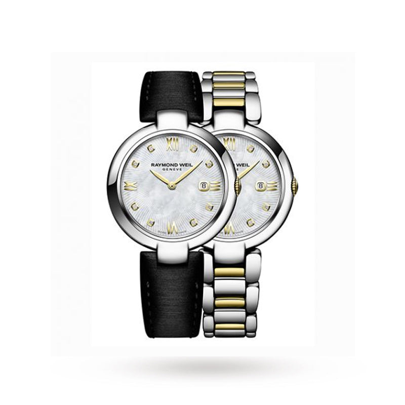 Raymond Weil Ladies Shine Interchangeable Strap Watch 1600-STP-00995