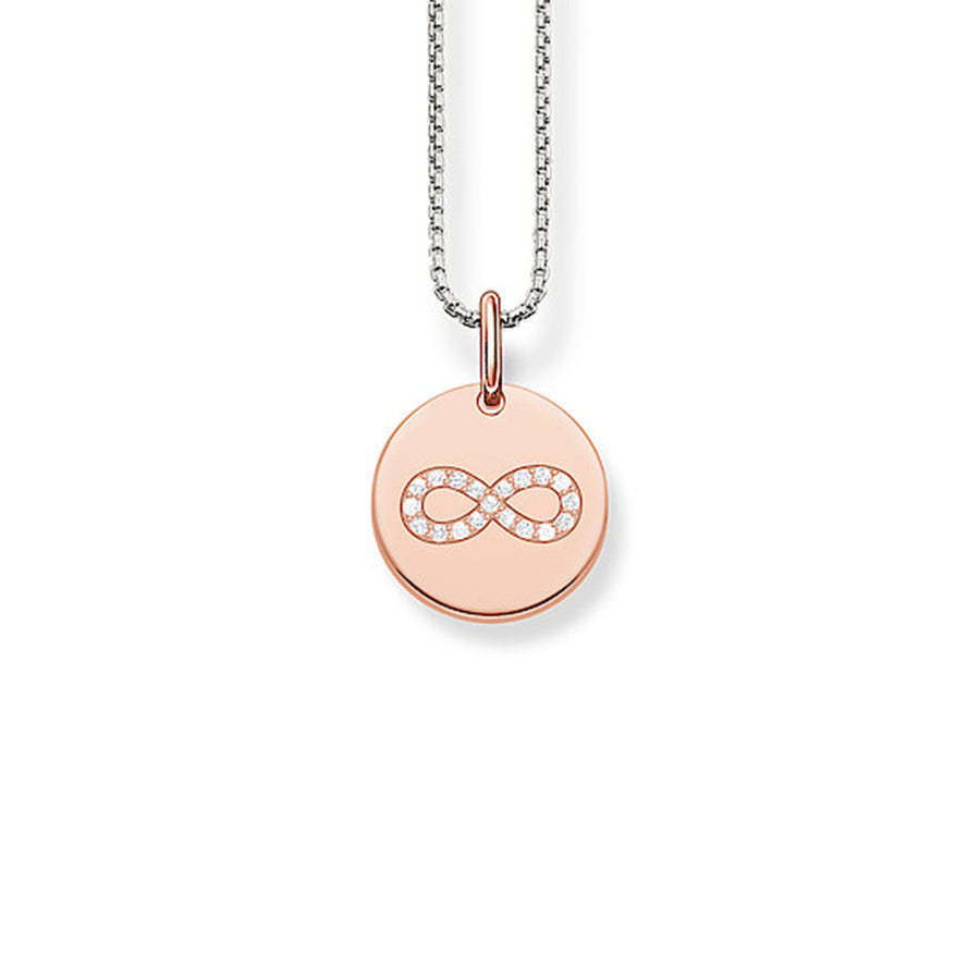 Thomas Sabo SCKE150168 Rose Gold Infinity Disc Pendant