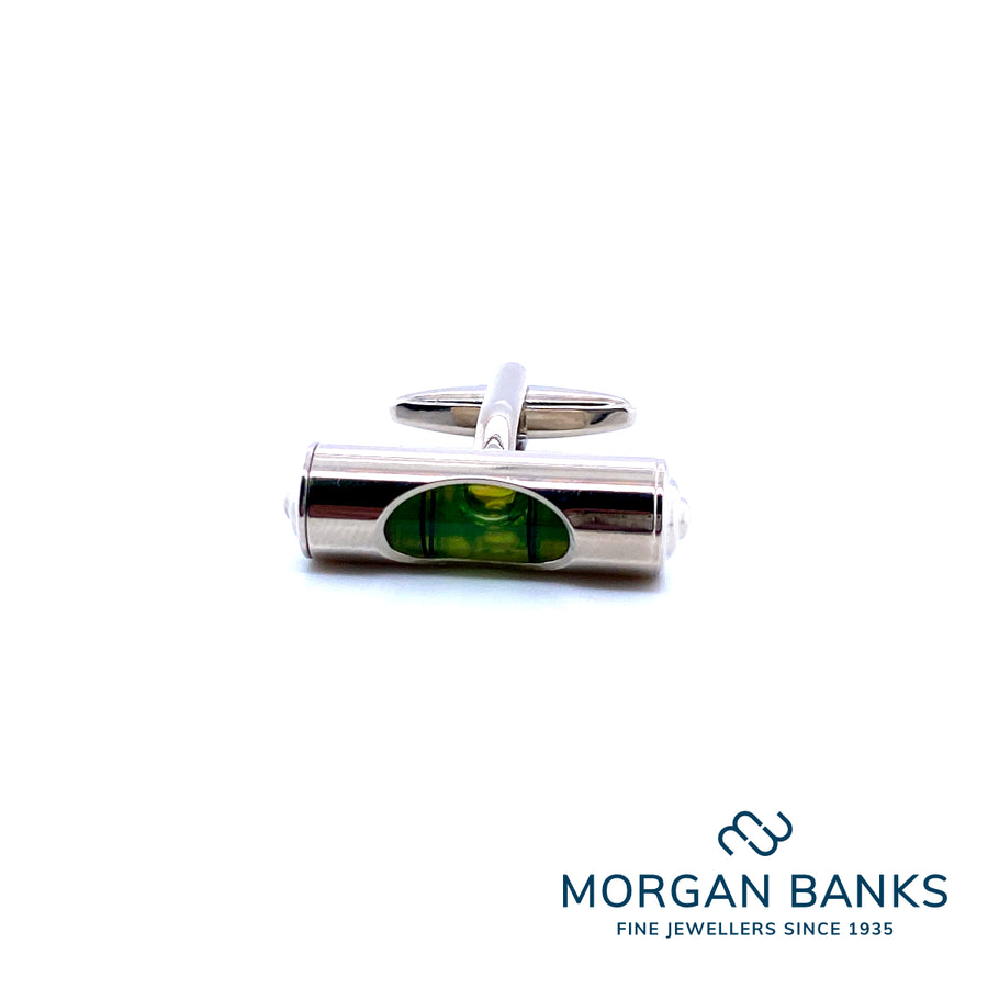 Dynamic Links Cufflinks Spirit Level Novelty 60016