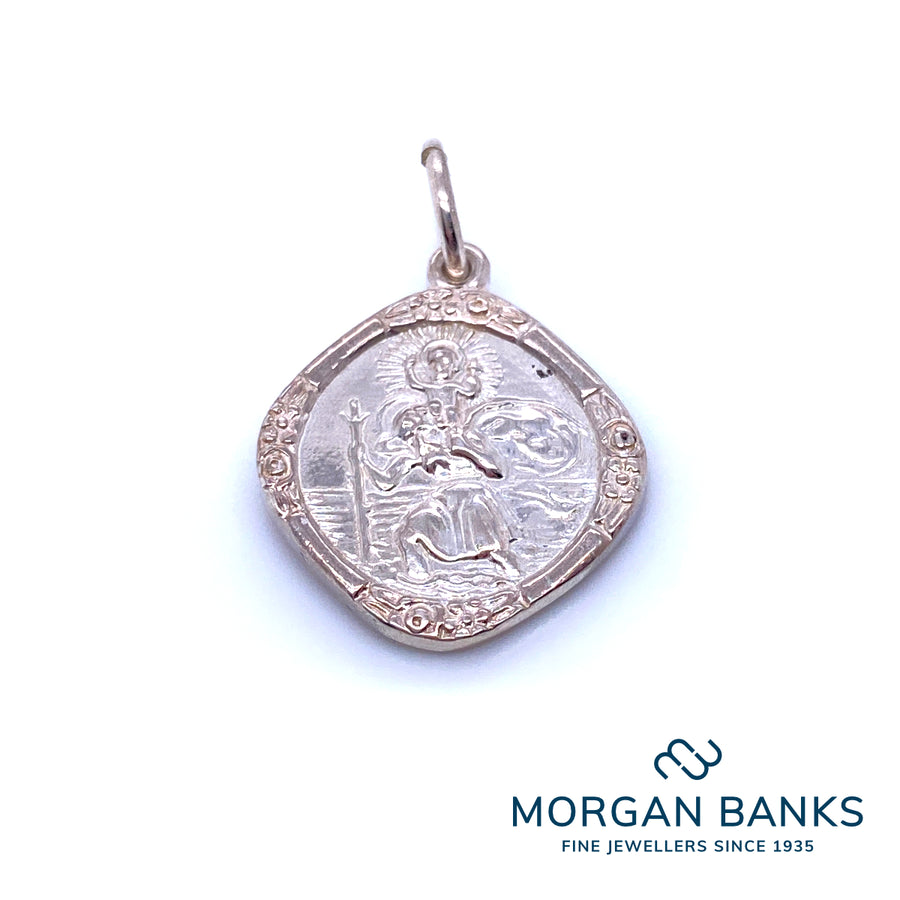 Anchor Silver St Christopher SSTC240