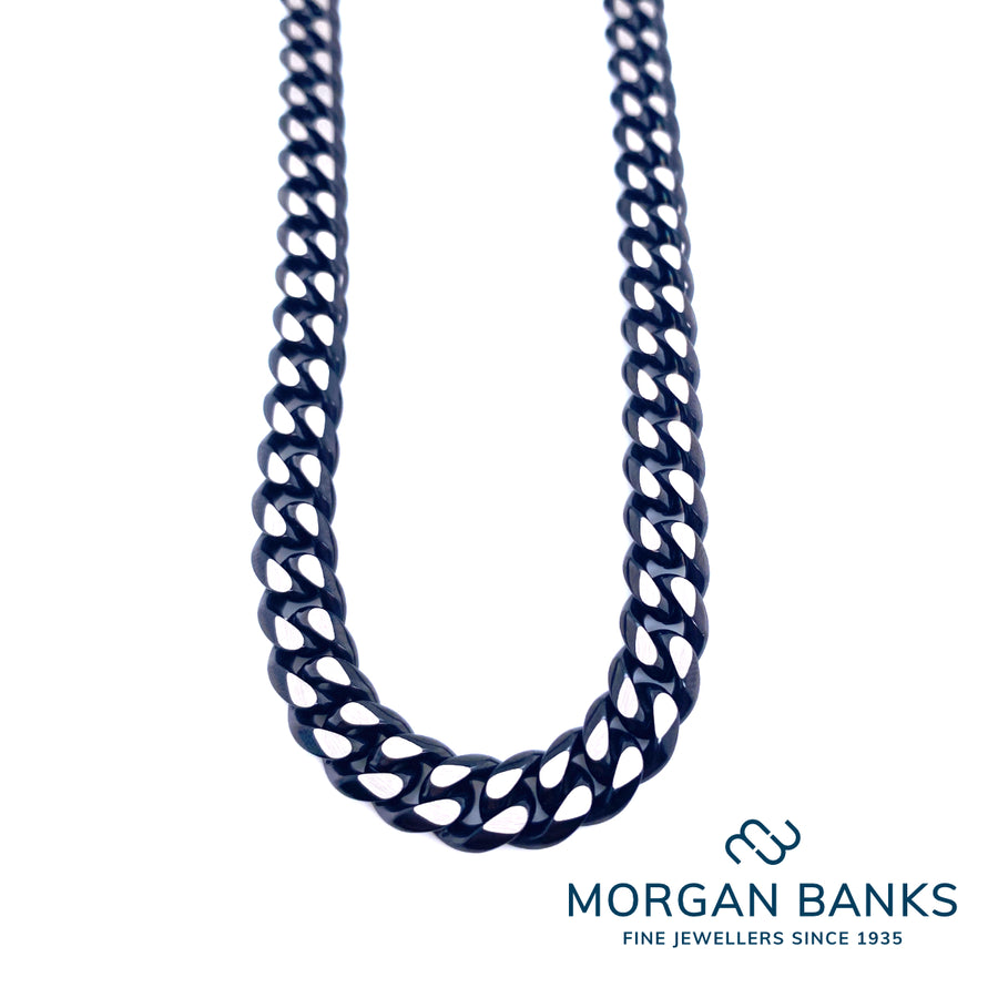 Morgan Banks Steel Gents £70 Necklace