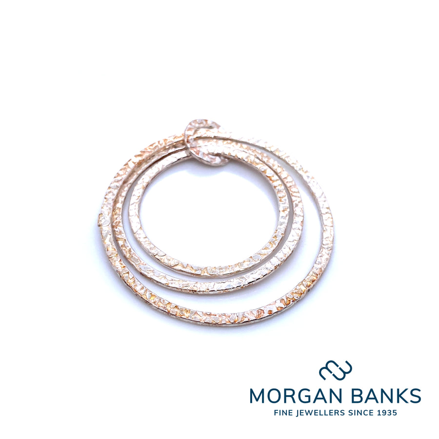 Morgan Banks Silver Interlinked Pendants