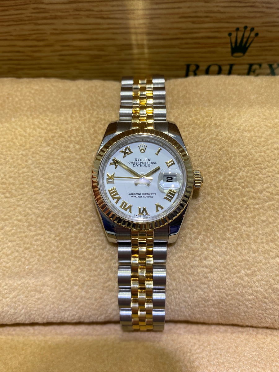 Rolex Bi Colour  Gold Ladies Datejust 179173 Z441419