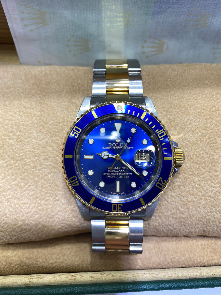 Rolex Bi Colour Submariner 16613 F278861