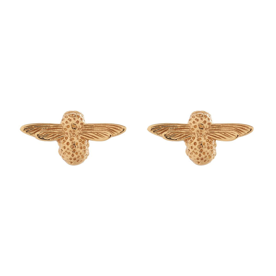 Olivia Burton 3D Bee Gold Stud Earrings OBJ16AME22