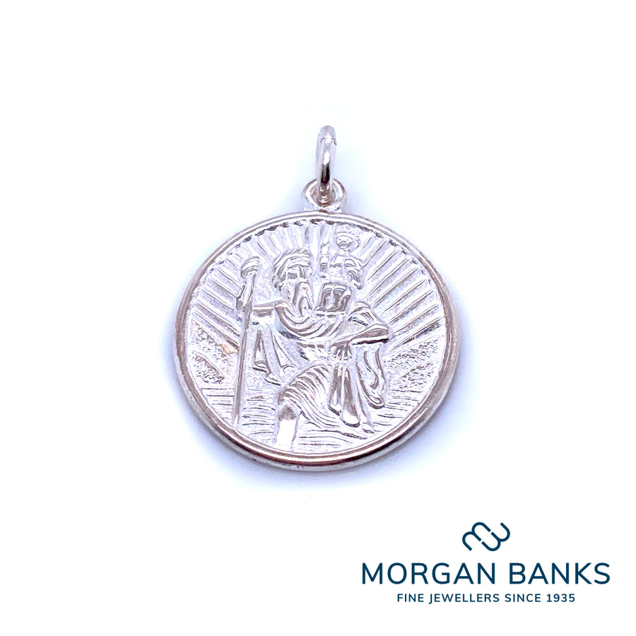 Anchor Saint Christopher Pendant