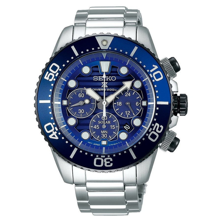 Seiko Gents Prospex Solar Save the Ocean Edition Watch SSC675P1