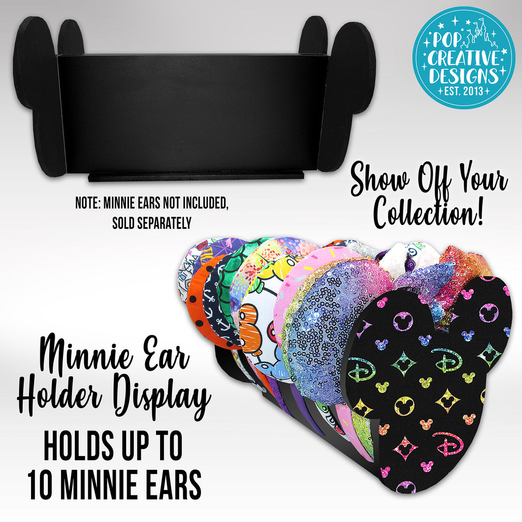 Designer Inspired Minnie Ear Holder Display