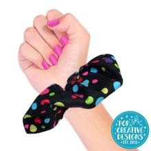 Load image into Gallery viewer, Mouse Polka Dots Hair Scrunchie