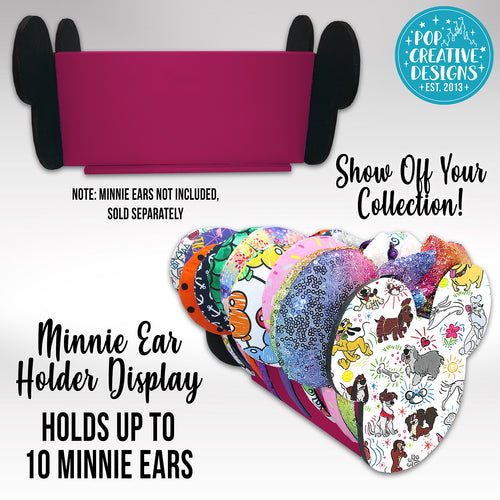 Sketchy Dogs Minnie Ear Holder Display