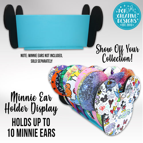 Sketchy Doodles White Minnie Ear Holder Display