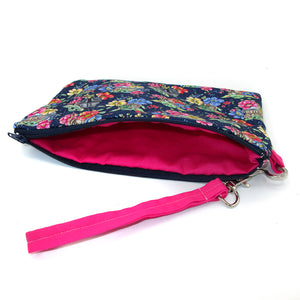 Snacky Baby Floral Wristlet Purse