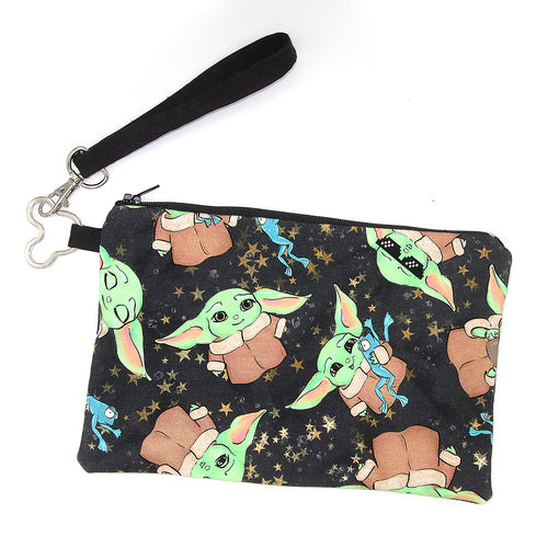 Snacky Baby Galaxy Wristlet Purse