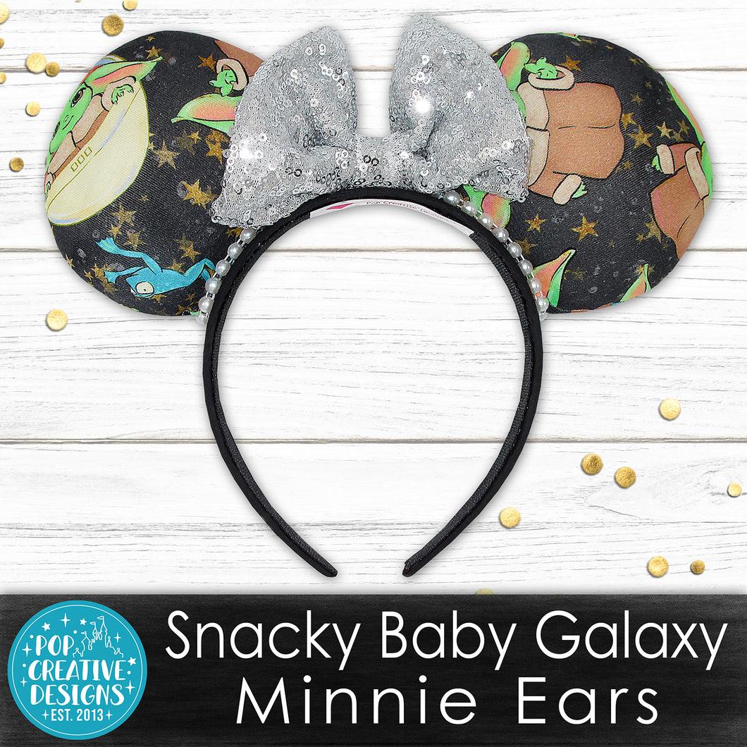 Snacky Baby Galaxy Minnie Ears