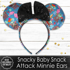 Snacky Baby Snack Attack Minnie Ears