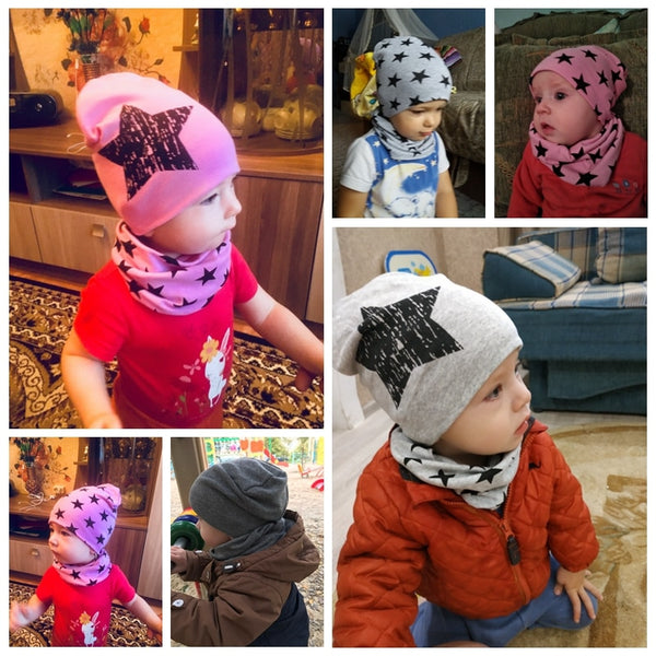Baby Boy Hats Star Print Baby Boy Beanies
