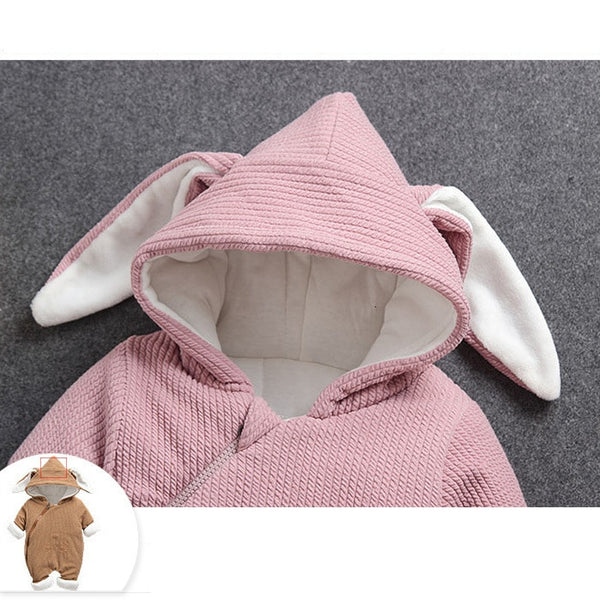 Baby Rompers Clothes Winter Boy Girl Garment Thicken Warm Comfortable Pure Cotton Coat Jacket Kids